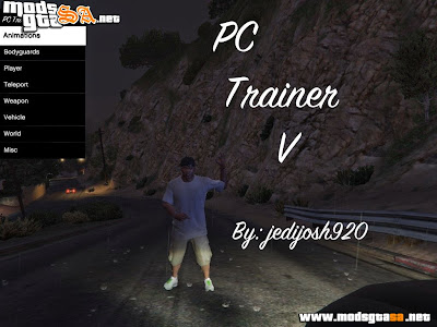 V - PC Trainer V1 para GTA V