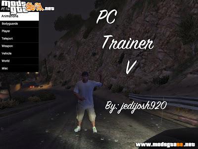 V - PC Trainer V1 para GTA V