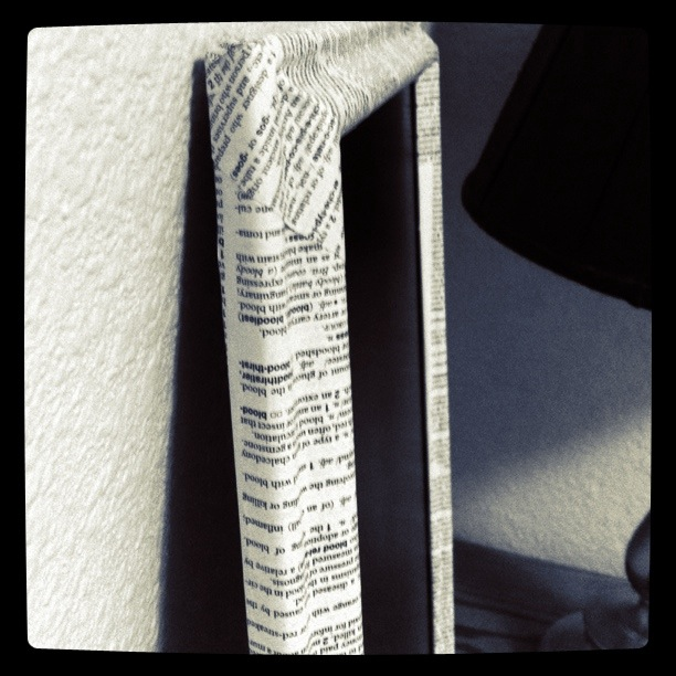Le Petite Sweet: Chalkboard with Dictionary Page Frame