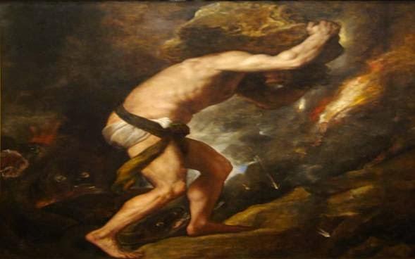 sisifo fue inspiracion del arte en varios cuadros