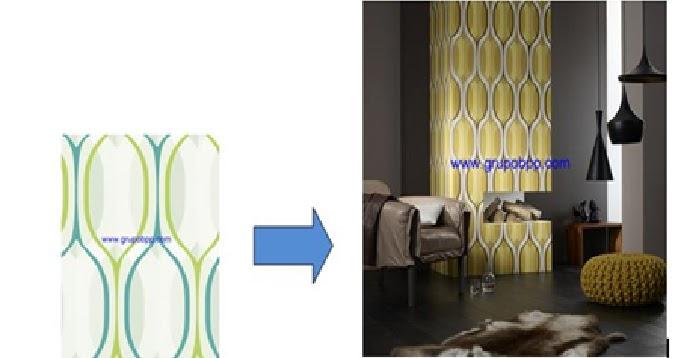 Decoracion con vinilo decorativo murales papel pintado - Papel pintado y vinilo ...