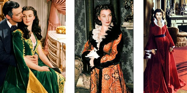 "Flashback Summer: Sew For Victory 2014 - My Projects! - Scarlett O'Hara ""Gone With the Wind"" robe inspiration"