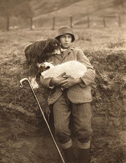 Shepherd portrait, n.d.