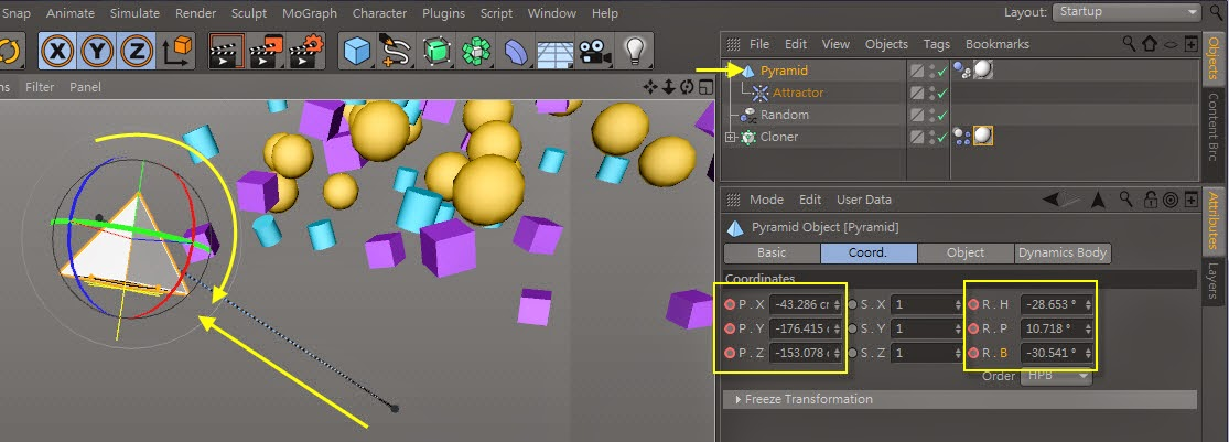 The_Cluster_Effect in C4D 20
