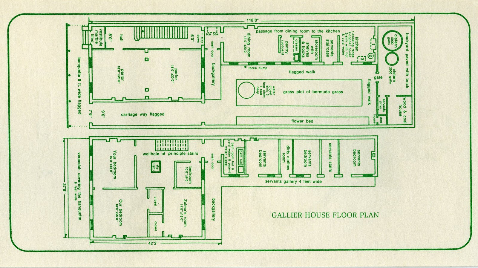 Jax Stumpes 1987 New Orleans I 3 5 Galls Traffic Buster Wiring Diagram Gallier House Floor Plan