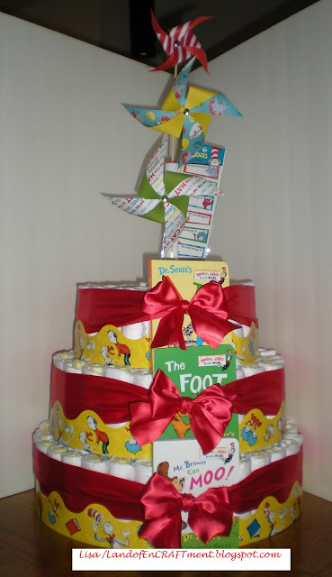 Land Of Encraftment Diaper Cakes