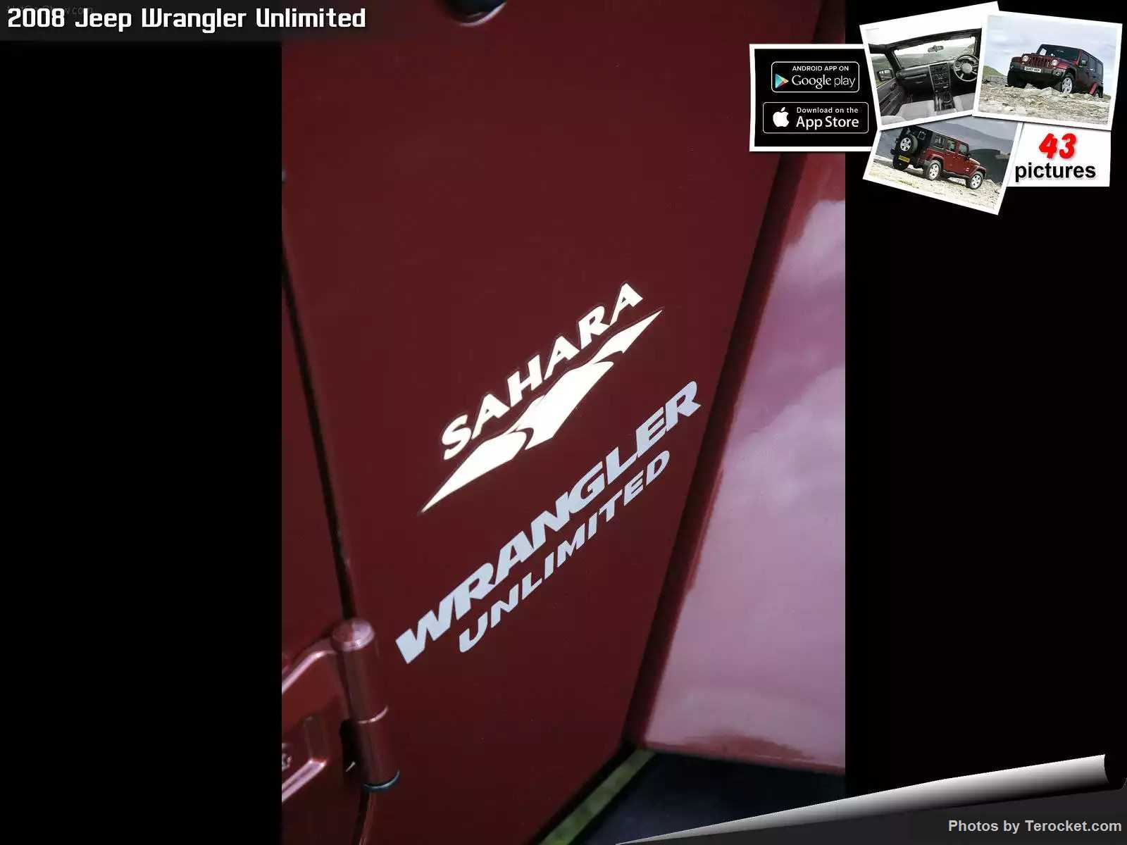 Hình ảnh xe ô tô Jeep Wrangler Unlimited UK Version 2008 & nội ngoại thất