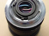レンズはSigma 17-70mm F2.8-4 DC