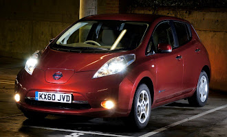 Nissan Leaf nose
