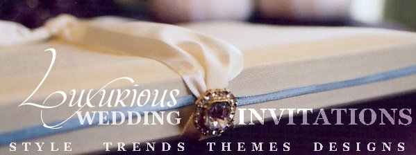 Luxurious Wedding Invitation Style