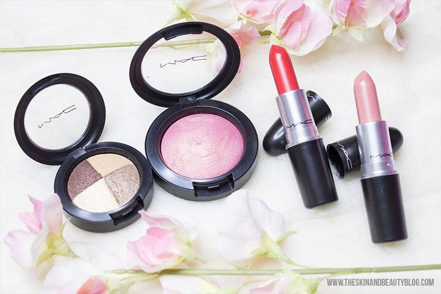 MAC A Fantasy Of Flowers Collection Haul, Review, Swatches Part 1 - Corals