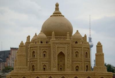 Taj Mahal Sand Art