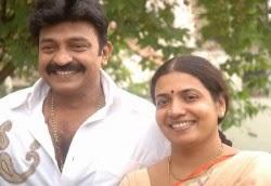 Rajasekhar and Jeevitha
