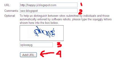 daftar blog di google