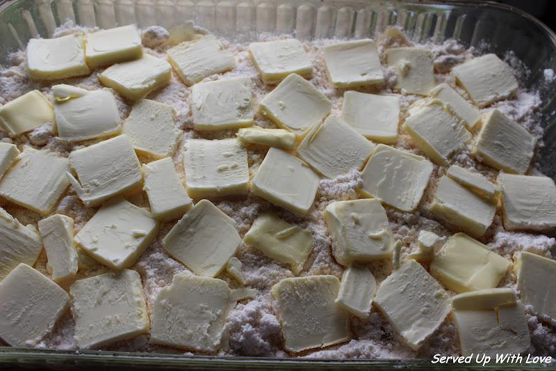 Served Up With Love Apple Cobbler Dump Cake