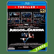 Juegos de guerra (1983) 30 Aniversario 4K UHD Audio Trial Latino-Ingles-Castellano
