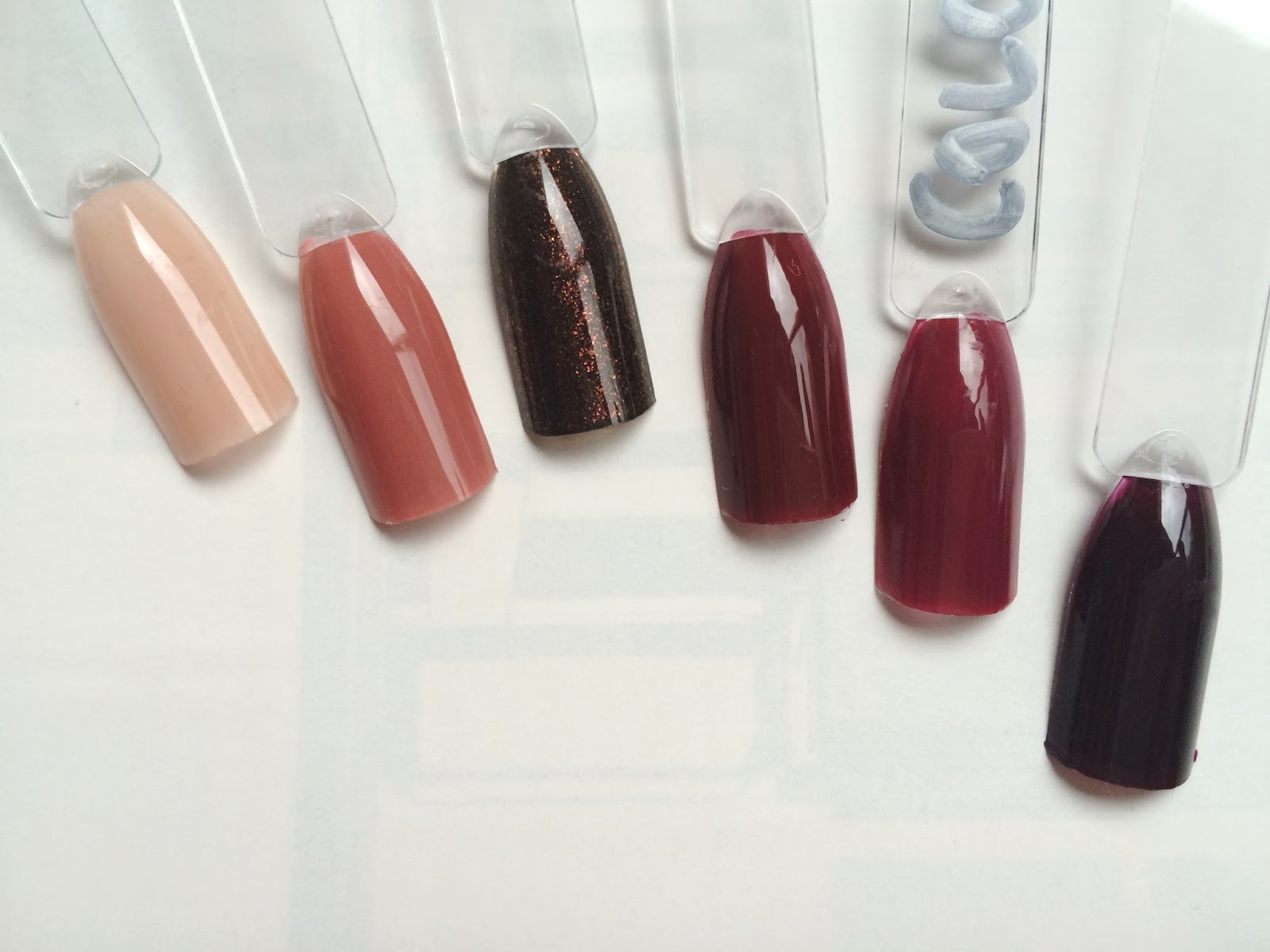 6 NAIL COLOURS FOR AUTUMN/WINTER | the weekend wild