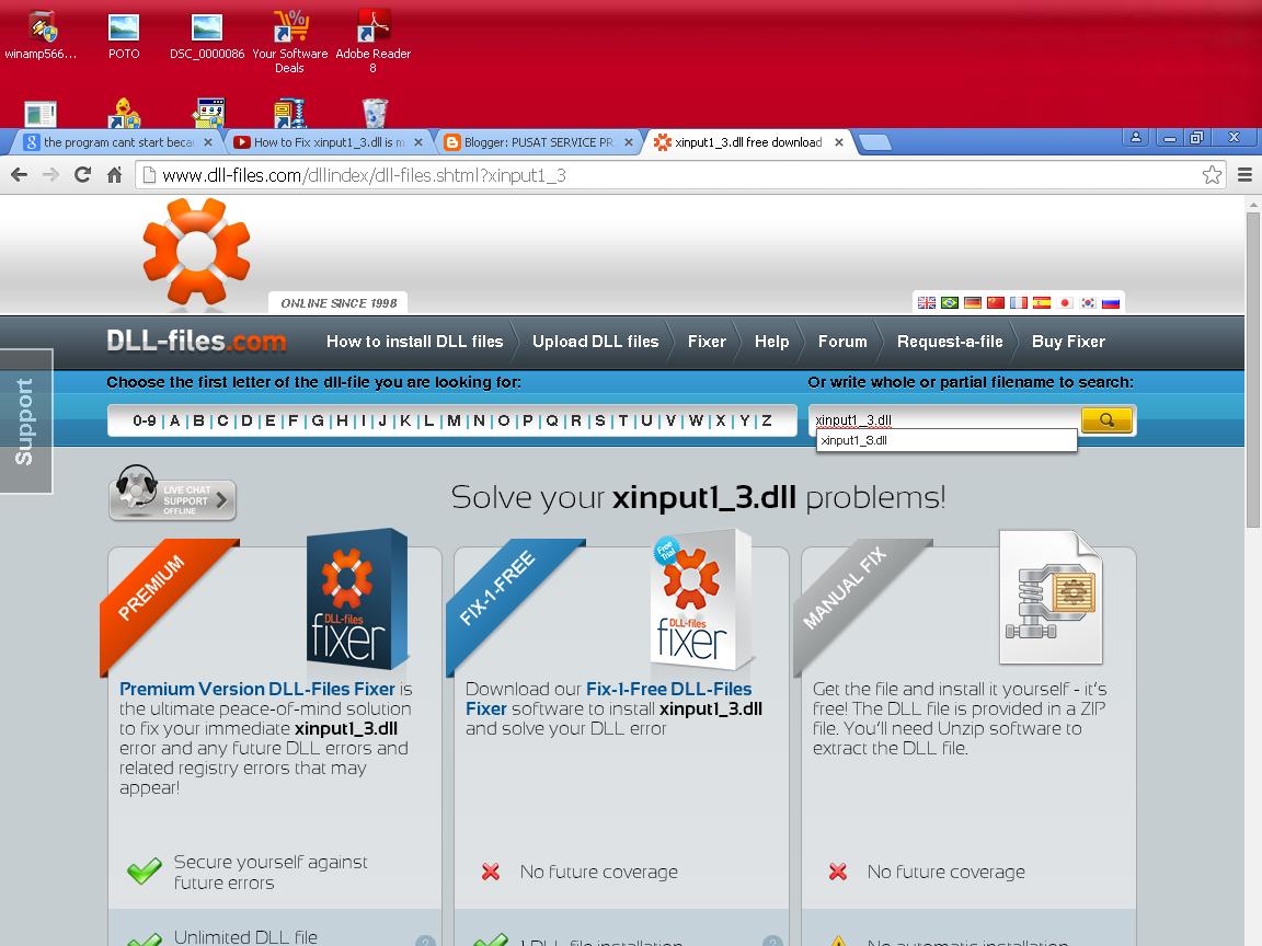 xinput1 1_3.dll скачать windows 8