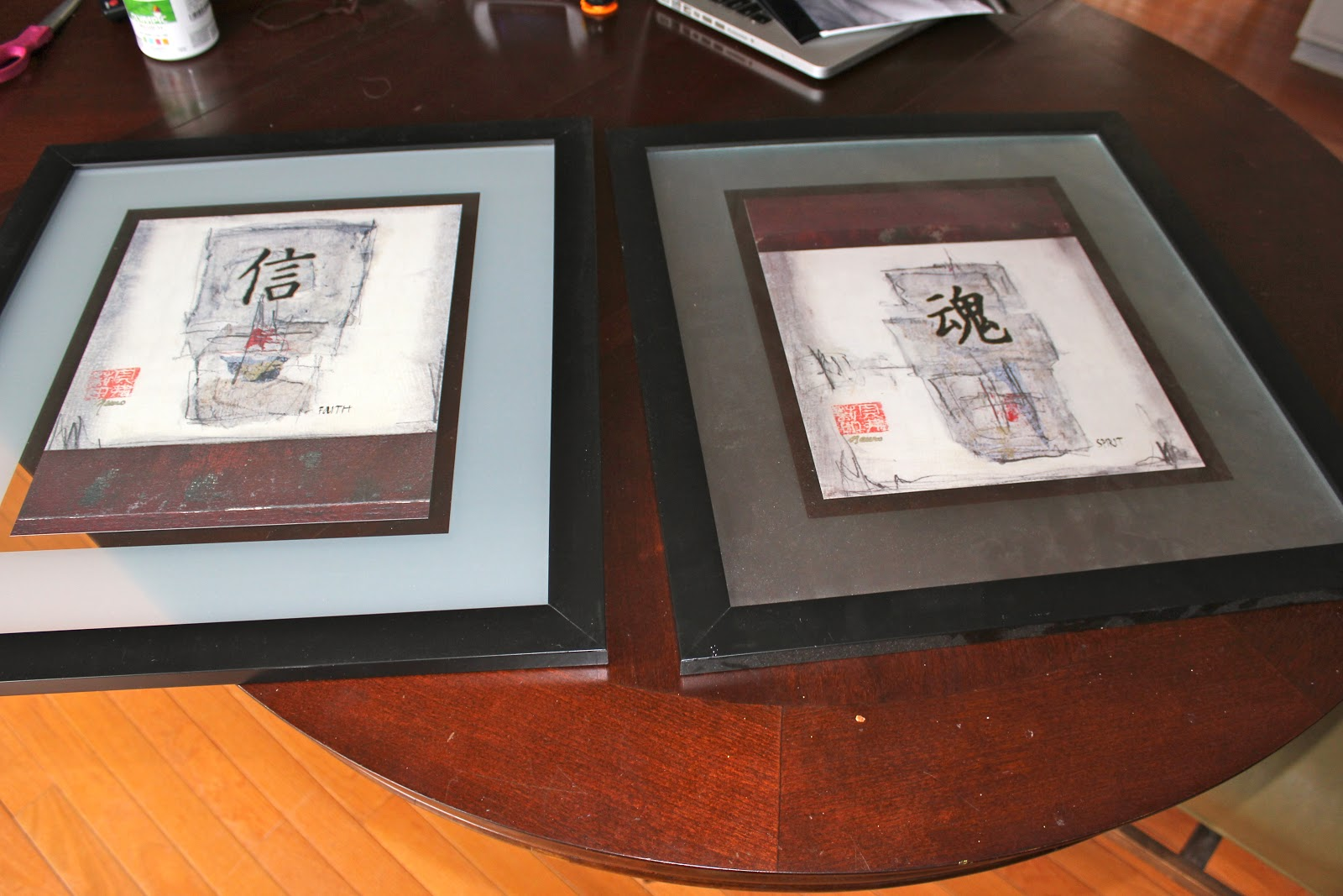 Project city indianapolis edition floating frames makeover and i am just now noticing that the glass etched on each of these are 2 different colors probably because they have been in a closet for the almost 6 years jeuxipadfo Image collections