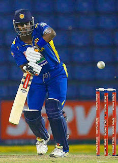 Angelo Mathews now fifth in the ODI all-rounders' table