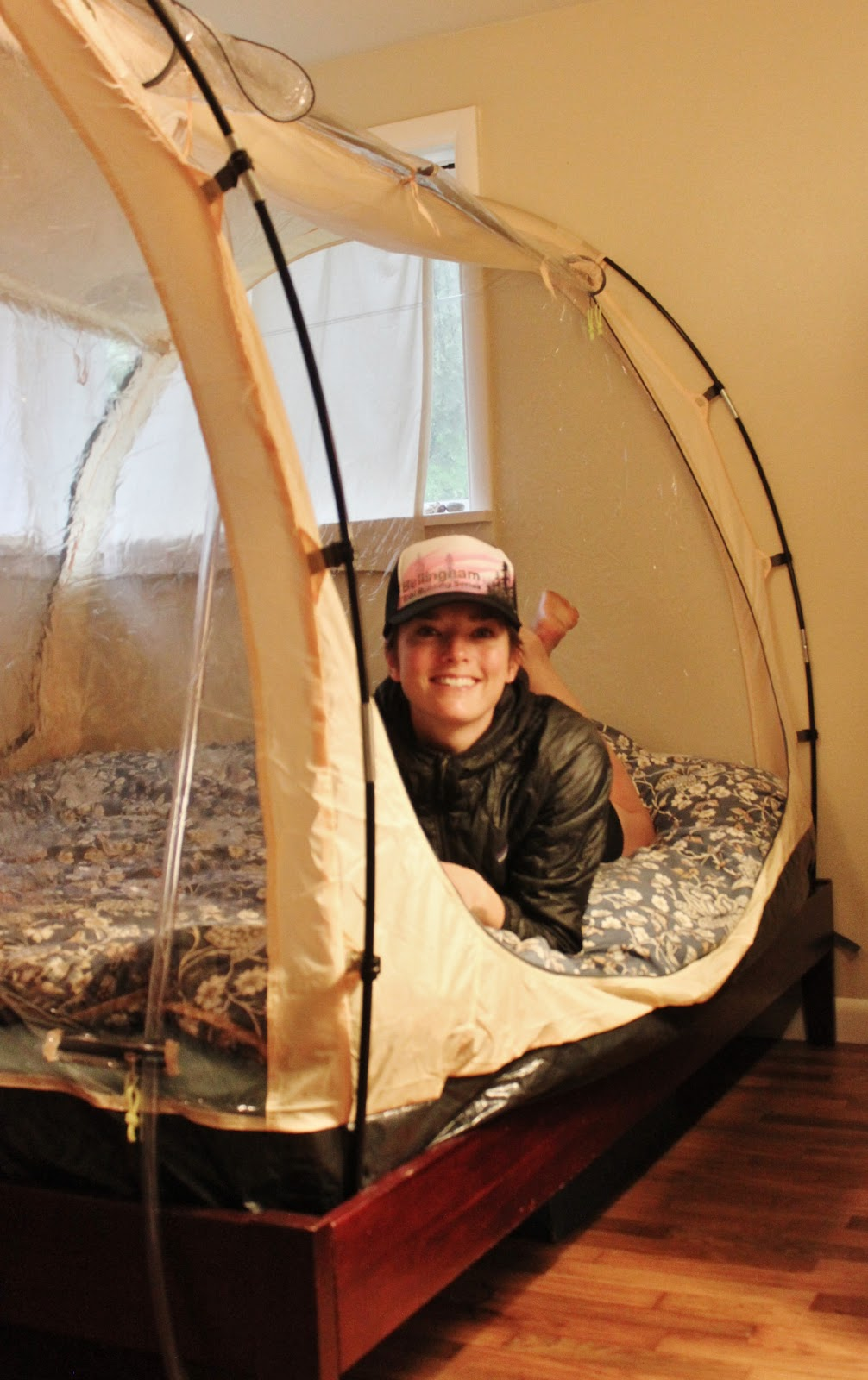 Hypoxico altitude tent fits right over my bed  sc 1 st  Wild Defined & Wild Defined: Sleeping high training low with Hypoxico