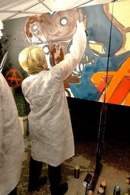 cours de graff et stage de graffiti sur paris IDF