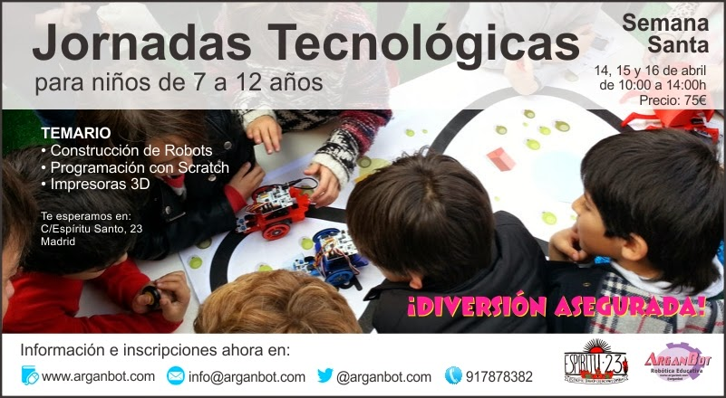 Jornadas Tecnológicas Semana Santa 2014