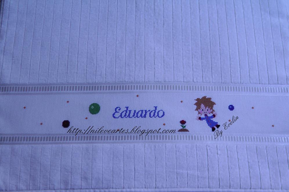Toalha de banho Pequeno Príncipe - Eduardo