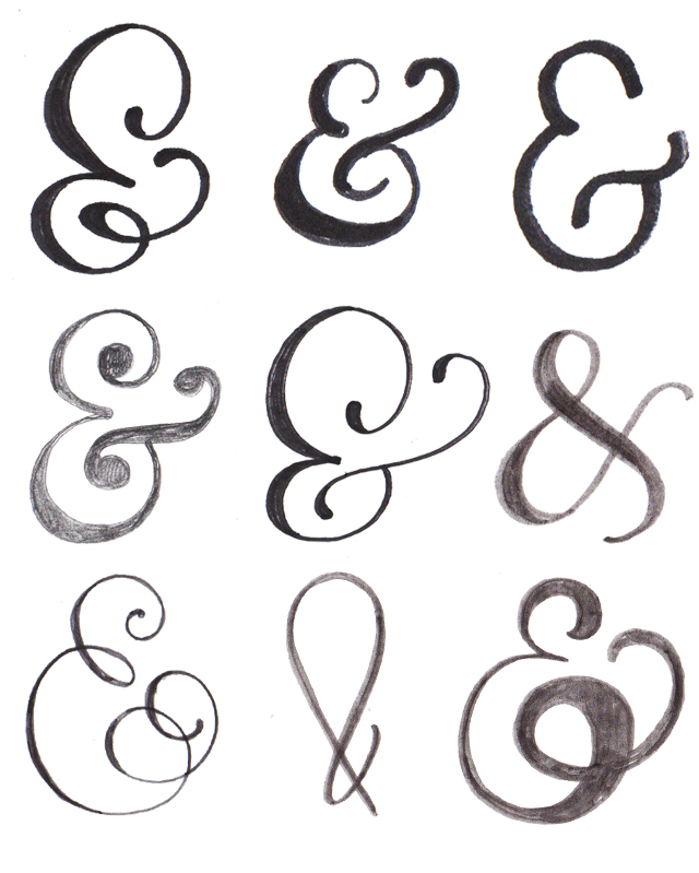 Alisaburke lettering with makewells the art of the ampersand Calligraphy and sign