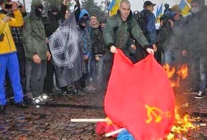 Nazis ucranianos apoyados por la UE