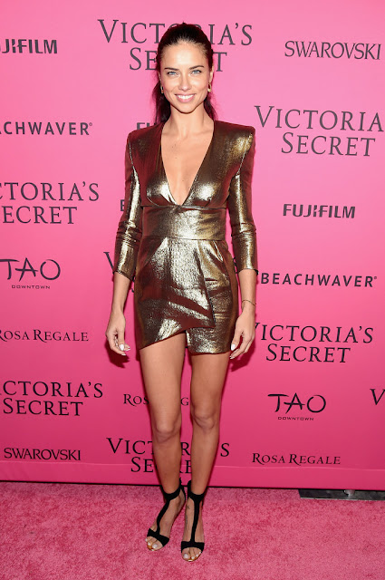 Actress, Supermodel @ Adriana Lima - Victoria's Secret Fashion Show After-Party in NYC