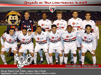 São Paulo - Libertadores 2005