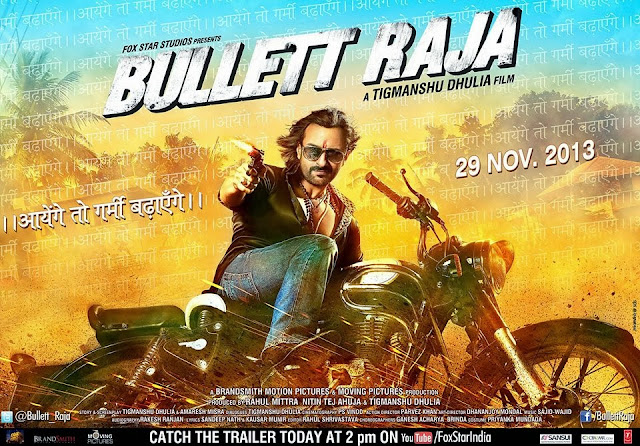 Latest poster of Bullett Raja !! Ft. Saif Ali Khan