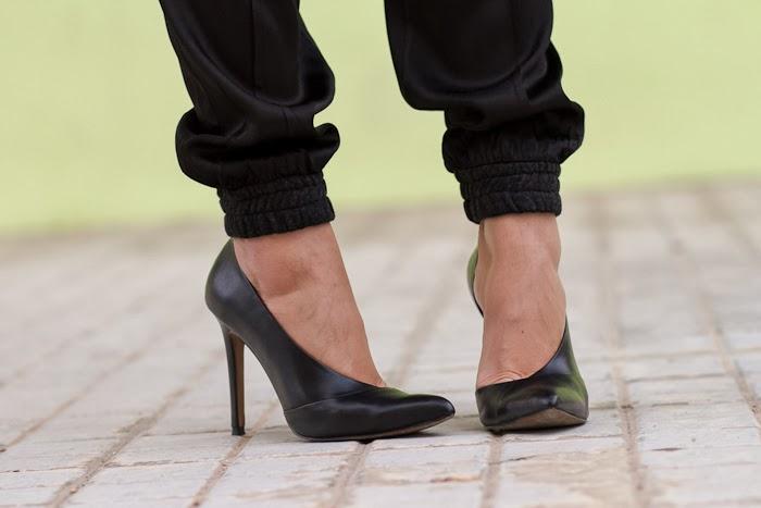 Zapatos asimétricos/ Asymmetrical Stilettos: Zara