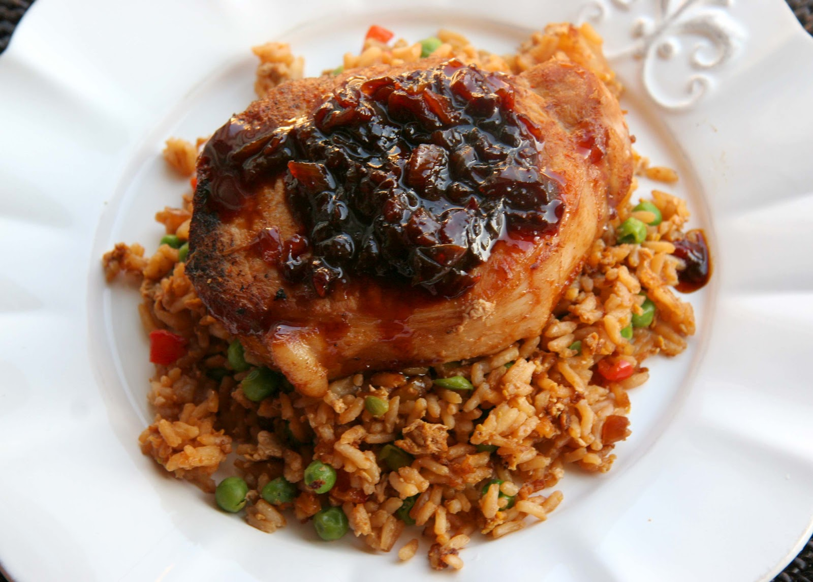 Look Who's Cookin' Now: Pork Chops and Pineapple Fried Rice