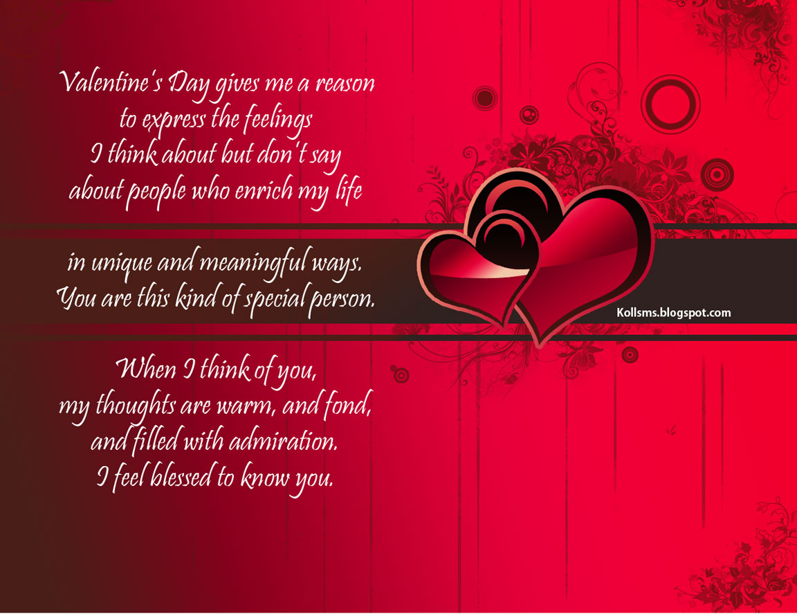 valentine images and sms