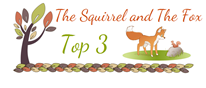 I made Top 3 at The Squirrel & The Fox