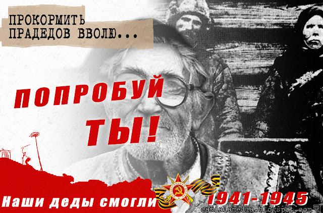 Наши деды смогли - плакат ко Дню Победы