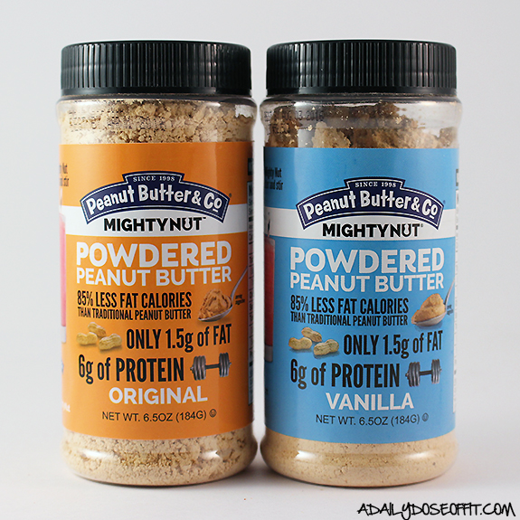 Use MightyNut Powdered Peanut Butter in recipes to save fat calories and add protein.
