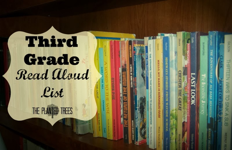 The Planted Trees Mama Monday Third Grade Read Aloud List