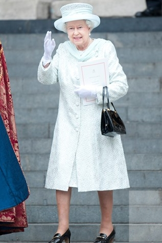 the Queen at the Diamond Jubilee