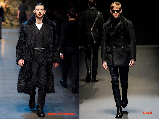 Tendencia otoño_invierno 2013-14 piel: Dolce & Gabbana y Gucci