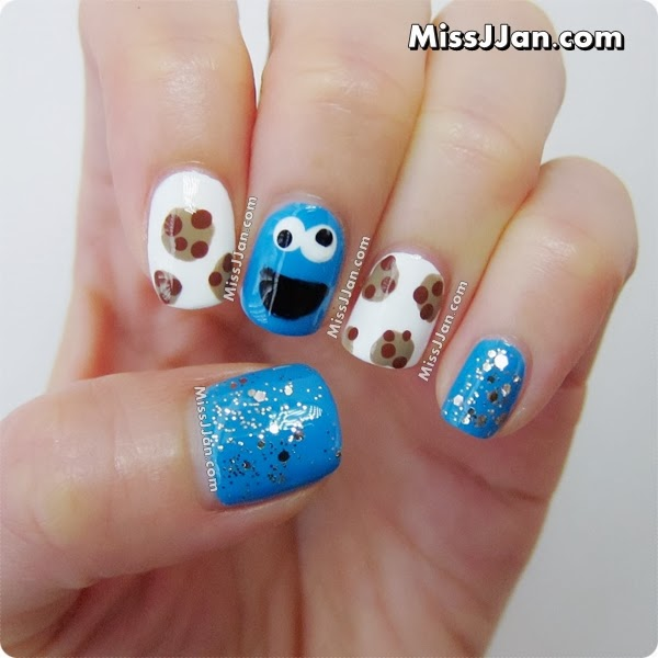 Missjjans Beauty Blog Sesame Street Cookie Monster Inspired