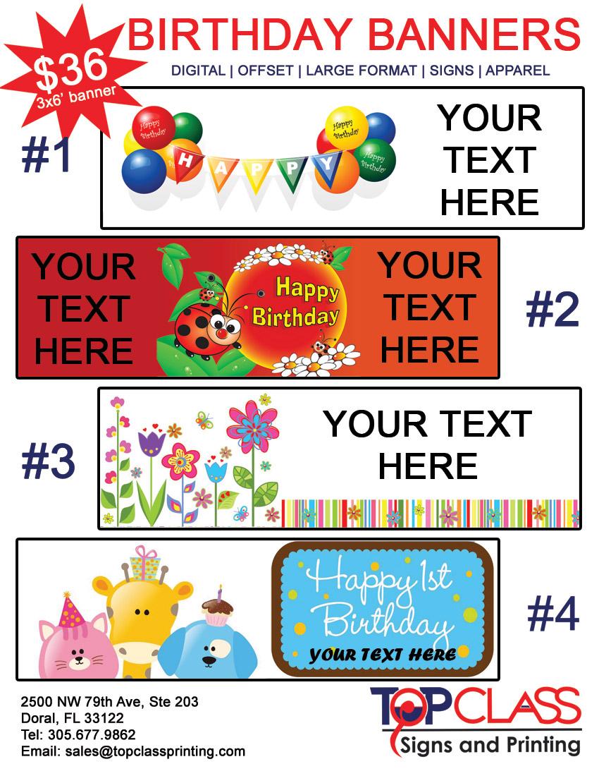 birthday banner maker online