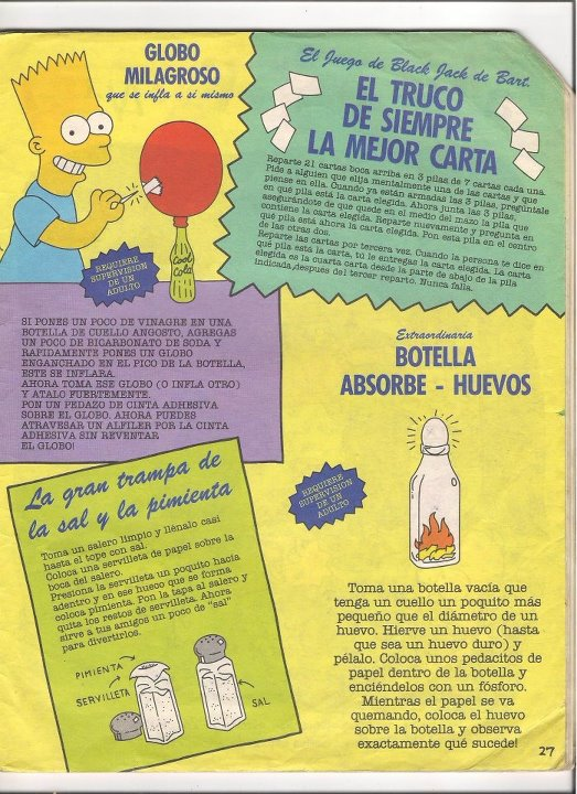 Los simpsons album (1992)
