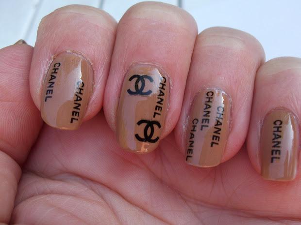 chanel inspired nails british