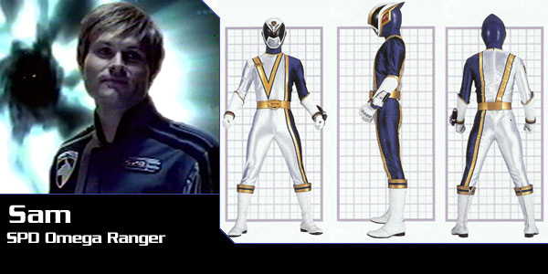 Power Rangers Club!!: Power Ranger S.P.D. - Personagens(Fotos)