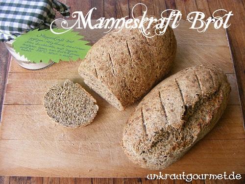 Brot mit Brennnesselsamen