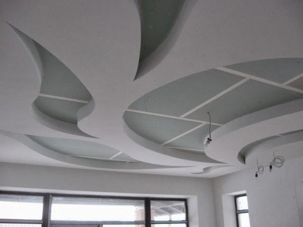 Gypsum False Ceiling Designs For Living Room 5 Designs