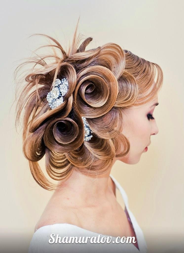 Mis Vestidos De Novia Peinados De Novia Originales Farrux Shamuratov - Peinados-de-novia-originales